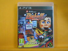 Ps3 williams flipper classics jeu génial graphique/jeu Playstation pal