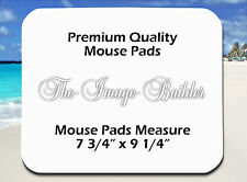 10 Blank 1/8 Mousepads 7 3/4 x9 1/4 Sublimation/Heat Transfer Mouse Pads 1/8MP10