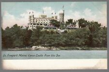 [53738] OLD POSTCARD CASCO CASTLE IN SOUTH FREEPORT, MAINE (UNDIVIDED BACK)