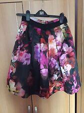 Ted Baker Floral Skirt Size 2 U.K. 10