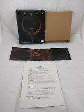 1996 Quake 1 PC CD ROM Game Big Box Original Windows id Software Classic