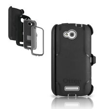 OtterBox Defender Case & Holster for HTC One VX Black Cover w Belt Clip OEM AT&T