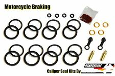 Yamaha FZR 1000 Genesis 1987 1988 87 88 front brake caliper seal repair kit set