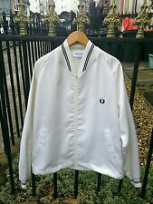 Rare Vtg 70's USA made Fred Perry Sportswear Monkey Bomber Jacket.Mod,Ska.Medium