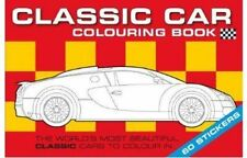 The Classic Car Colouring Book by Chez Pitchall (Paperback, 2011)