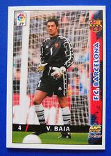 CARD FUTBOL LFP - LAS FICHAS DE LA LIGA 98-99 - N. 4 - VITOR BAIA - BARCELONA