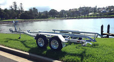 AL5.4T,Galvanised Boat/Tinny Trailer, Dual/Tandem Axle (Suit Boats 4.5m to 5.4m)