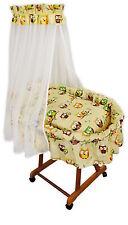 Baby Stubenwagen Eule Babykorb Bettwäsche Untergestell EU-Produkt Design 6E