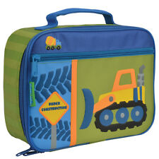 Stephen Joseph Construction School Lunch Box for Kids - Lunch Bag for Boys