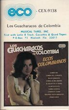 Los Guacharacos de Colombia Ecos Colombianos Cassette New Sealed
