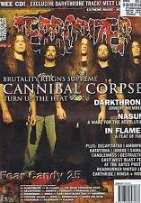 CANNIBAL CORPSE / DARKTHONE / NASUM Terrorizer no. 141 Feb 2006