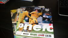 4nr Preston North End Home Programmes 1980's and 1990's