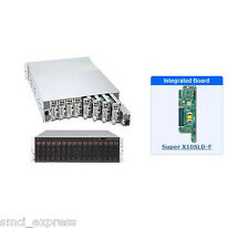 *NEW* SuperMicro SYS-5038ML-H8TRF 3U MicroCloud Server with X10SLD-F Motherboard