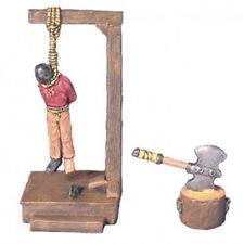 Armorcast Miniature 28mm ACID102 Hangman's Gibbet and Victim Pewter Kit