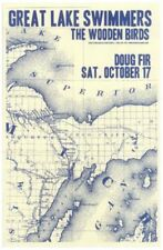 GREAT LAKE SWIMMERS Gig POSTER Oct. 2009 Portland Oregon Concert
