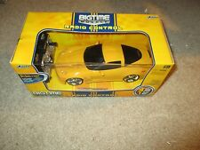 Jada Toys Bigtime Muscle Radio Controlled 49 MHZ 2006 Chevy Corvette Z06 MISB