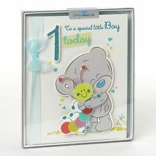 CARTE BLANCHE ME TO YOU  1ST BIRTHDAY BOY HAND MADE BOXED CARD - NEW