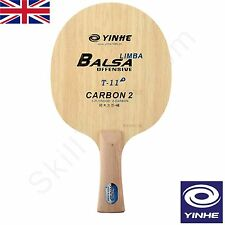 Yinhe Milky Way T11+ Table Tennis Blade Balsa Core 5 Wood + 2 Carbon *UK SELLER*