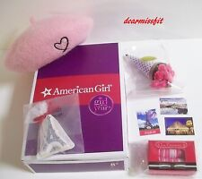 AMERICAN GIRL DOLL GRACE THOMAS'S BERET WELCOME SET COMPLETE IN BOX - NEW