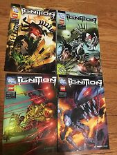 Lot of 5 Ignition LEGO Comic Books - 0,1,3,4,5