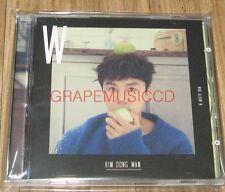 KIM DONG WAN SHINHWA W 2ND MINI ALBUM K-POP JEWEL CASE PROMO CD