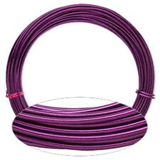 Purple Aluminum Wrapping Wire 45 Foot Coil 12 Gauge Round Jewelry Craft