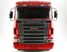 Scania Modellbau Trucks S-u-p-e-r Logo in Edelstahl Muster 1:14