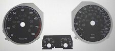 Lockwood VW Golf Mk5 Petrol 160MPH w/Bonnet Icon BLACK Dial Conversion Kit C068