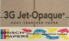 "INKJET TRANSFER PAPER FOR DARK FABRIC: NEENAH ""3G JET OPAQUE"" (A4 SIZE) 50 CT"