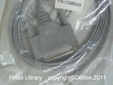 Avocent CAB0025 RJ-45M to DB-25M straight-thru cable 2m approx.  2 Year Warranty