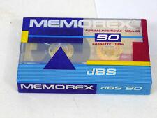 MEMOREX DBS 90 CASSETTE * NEW
