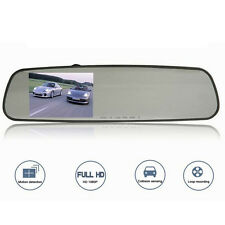 1080P Ultra-thin 5.0MP Rear-view Mirror Dash Car Camera Video Recorder