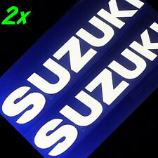 WHITE Suzuki decal srad 750 gsxr 600 katana 1000 sv moto gp sticker volusia 1500