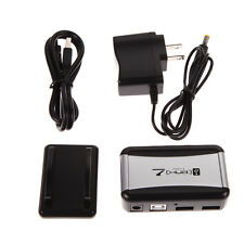 USB 2.0 High Speed 7 Port Hub with US Plug AC Power Adapter Cable for PC Laptop