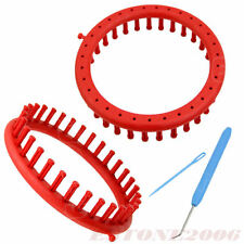 Round Classical Circle Hat Useful Knitter Knifty Knitting Knit Loom Kit Red 19CM