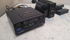 Sony EV-P10U Video 8 Player + SONY CCD-M8E HandyCam VIDEO  VINTAGE RARE