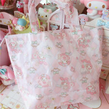 Kawaii Bowknot My Melody Kitty Handbag Shopping Bag Waterproof