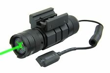 TACTICAL COMPACT RIFLE SHOTGUN GREEN LASER PRESSURE SWITCH ON/OFF PUSH BUTTON