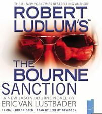 Robert Ludlum's the Bourne Sanction by Eric Van Lustbader (2008, CD, Unabridged)