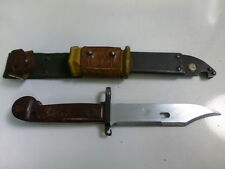 Vintage Russian Bayonet With Case ,