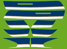 Dekorsatz Decals Kawasaki Z 1000 R2 -ELR- limegreen