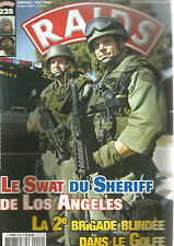 RAIDS N° 228 SWAT DE L.A / GUERRE NEPAL / EZAPAC / NEW ZEALAND DEFENCE FORCE