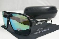 New Fashion Men & Women's Retro Sunglasses Bright Black Gold Lens Glasses Unisex
