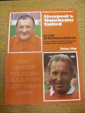 04/04/1979 FA Cup Semi-Final Replay: Liverpool v Manchester United [At Everton]