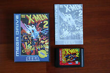 X-Men 2 Clone Wars Sega Mega Drive game Complete in Box CIB