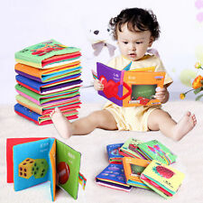 Intelligence Developmental Baby Toys Cloth Cognize Book Educational Toy ANIMALS