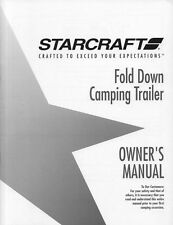 1994 Starcraft Folding Camping Popup Trailer Owners Manual