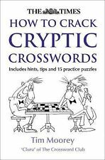 The Times How to Crack Cryptic Crosswords, Moorey, Tim, New Books