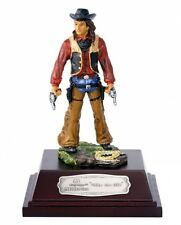 Nürnberger Meisterzinn 20007 Deko Figur Cowboy Billy the Kid 10cm