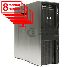 Trading 8 Monitor PC HP Z600 Workstation 8 Core 2x E5506 2.13Ghz 8GB 1TB  Win 7